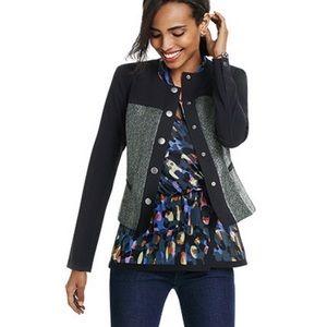 CAbi Flaunt Colorful Wrap Blouse